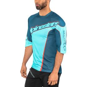 Alpinestars Crest 3/4 Jersey Men poseidon blue/atoll blue